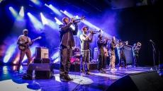 Hypnotic Brass Ensemble | 13.08.2014 | Kulturarena, Jena | © Felix Brodowski