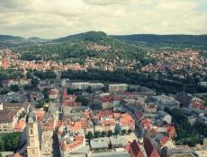 Blick auf Jena