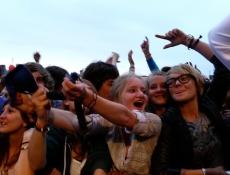 Publikum bei Uffie