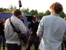 Touchy Mob auf dem Campingplatz