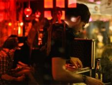 DJ Flippo Calippo, Molotow Converse Silent DJ Battle // © Martina Drignat