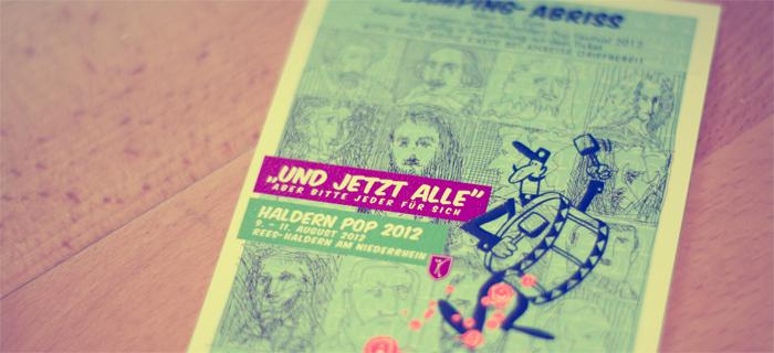 """Haldern Pop Festival 2012: """"Und jetzt alle"""" - aber bitte jeder für sich"""