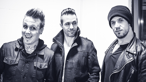 Papa Roach Interview in Wiesbaden