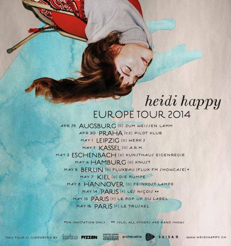Heidi Happy Tour 2014