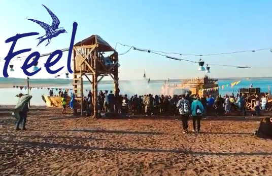 Feel Festival 2015 am Bergheider See