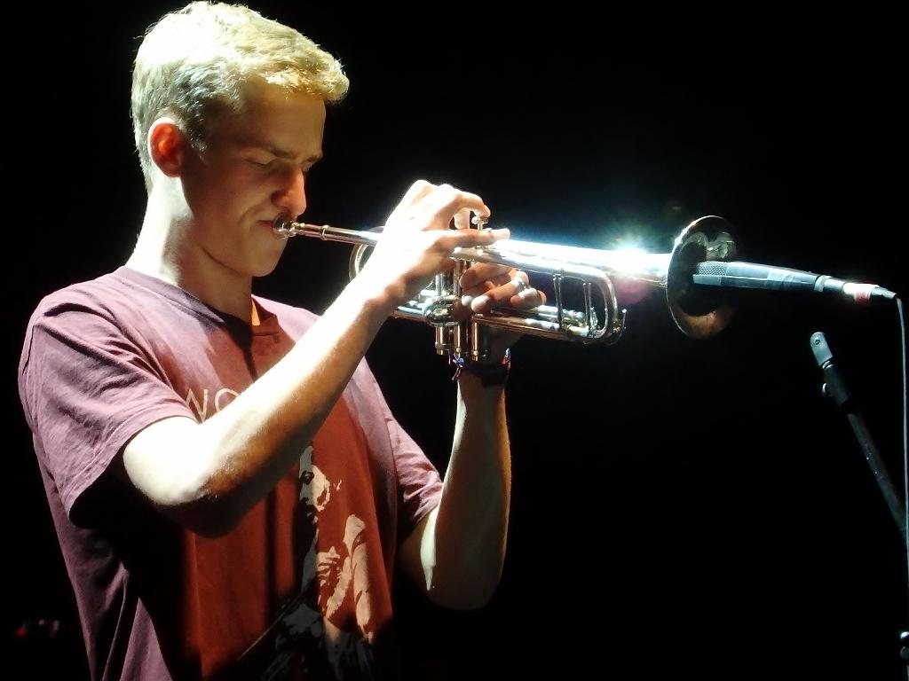 Ferdinand Schwarz an der Trompete Bild: Alexandra David