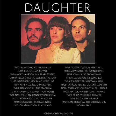 Tourdaten Daughter