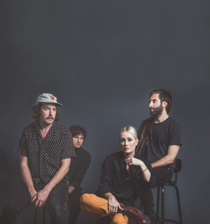 Shout Out Louds auf Tour