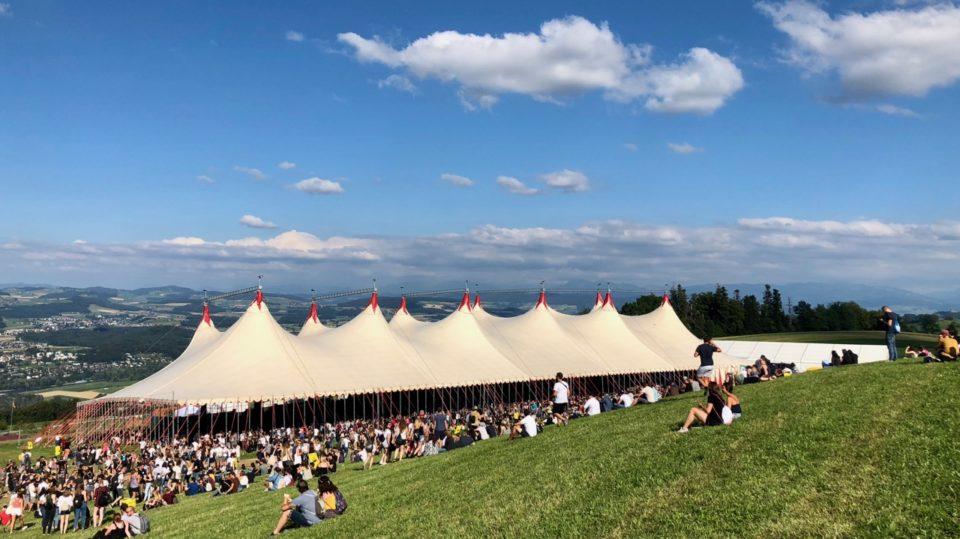 Gurtenfestival Zeltbühne | Foto: Danny Brodowski