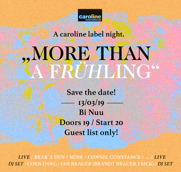 Caroline Label Night Flyer