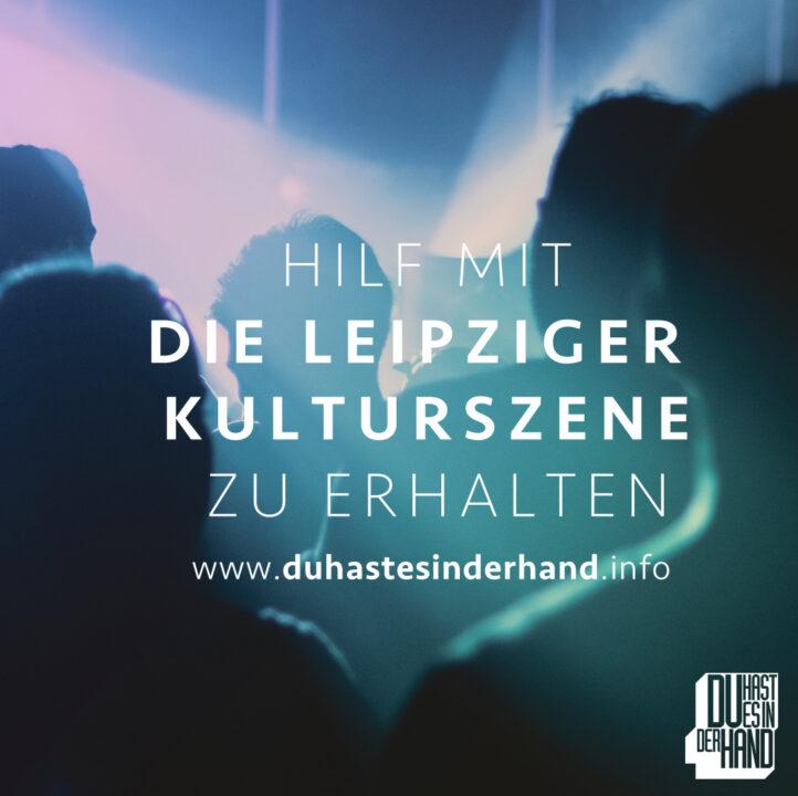Leipziger Kulturszene retten, Kampagnenaufruf